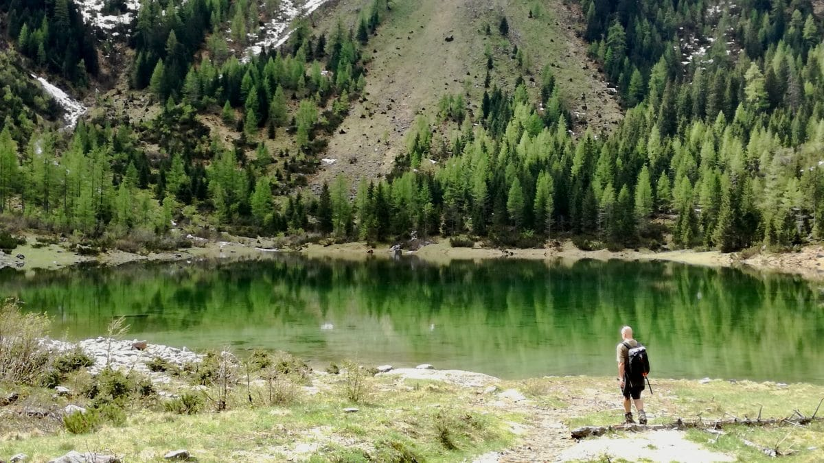Alpine Swimming means Hiking and Swimming to and in alpine mountain pools, torrents, waterfalls.