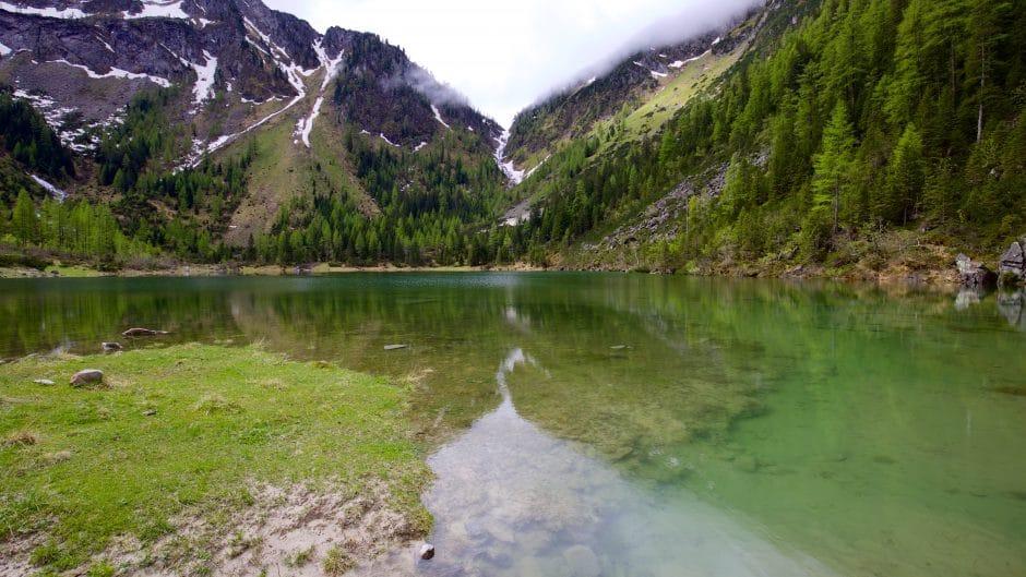 Der Schödersee ist ein periodischer See im Grossarltal