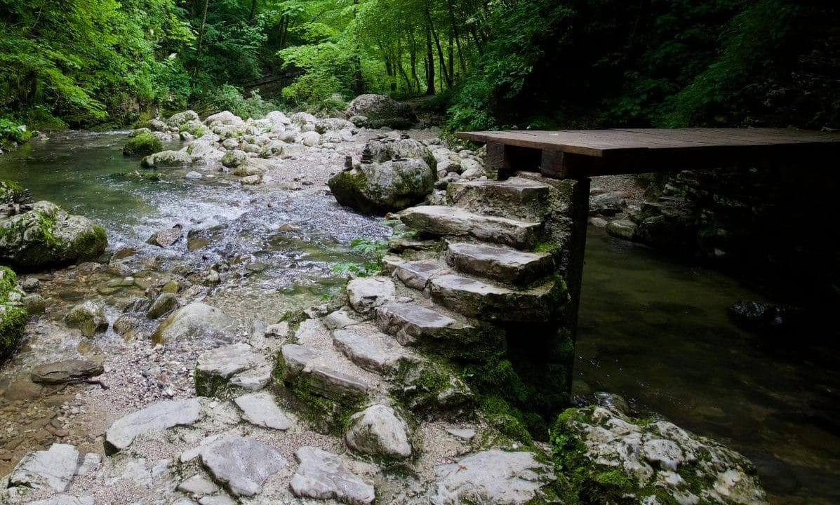 Its a nice path to the Kozjak Waterfall