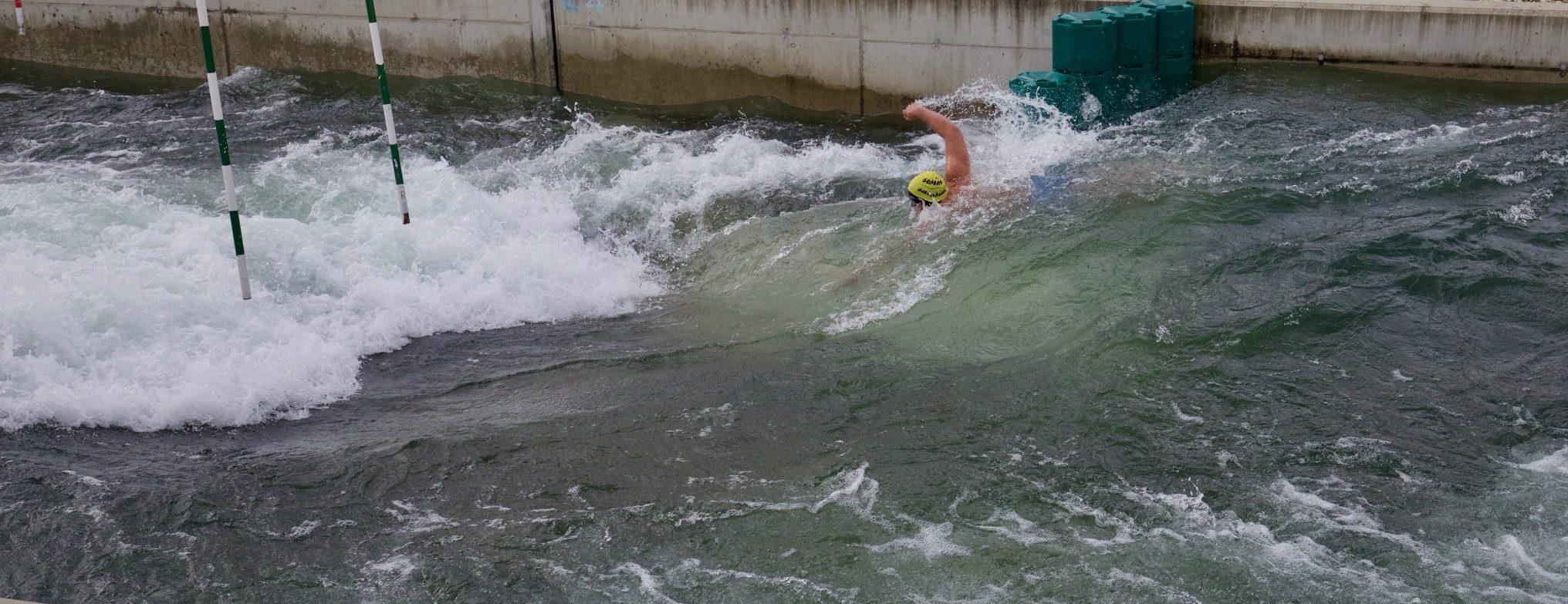 """Wildwasser Schwimmen mitten in Wien ? Das geht- aber nur bei """"Swim the CHannel """" im September"""