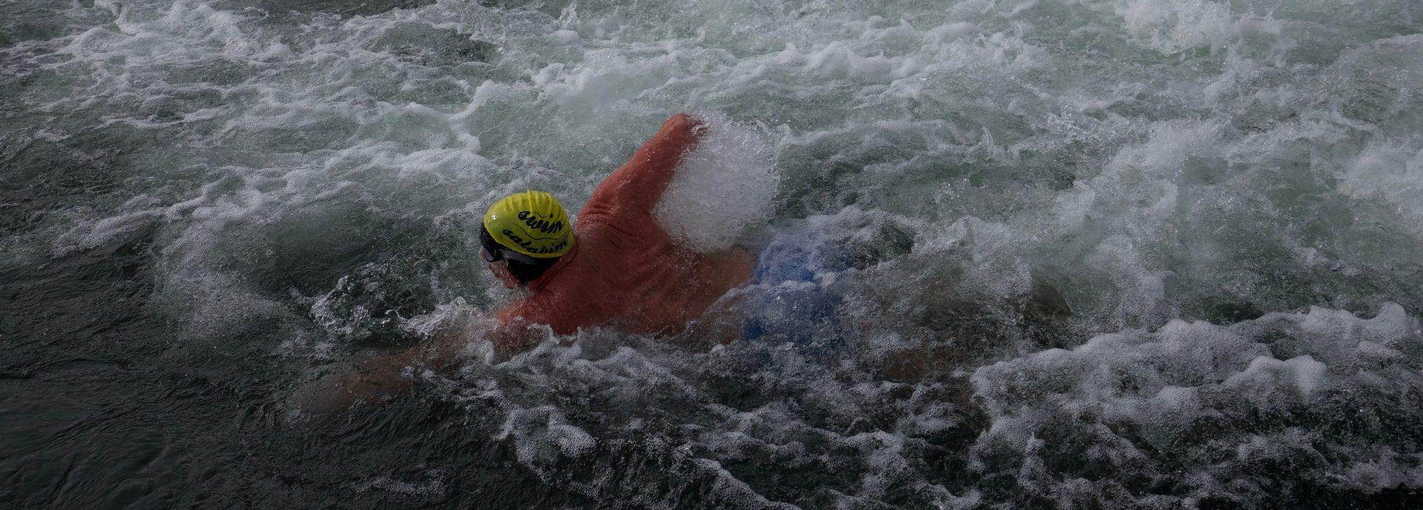 """Bei """"Race the Channel"""" sind nicht unedingt die stärksten Schwimmer im Vorteil sondern die, die das Wasser am besten lesen können."""